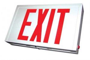 Buy Exit Lighting - Steel Exit Lighting SXTU