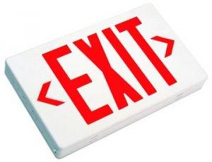 Buy Exit Lighting - Standard Exit Lighting EZXTE