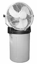"""Buy Cold Draft Blue 18"""" self-contained misting fan"""
