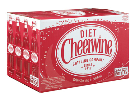 Diet Cheerwine 24 Count Case