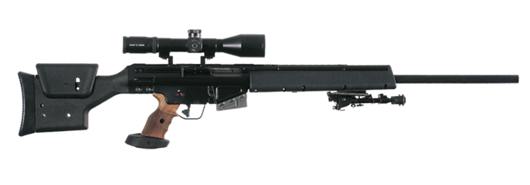 PSG1 A1 Semi-automatic precision sniper rifle