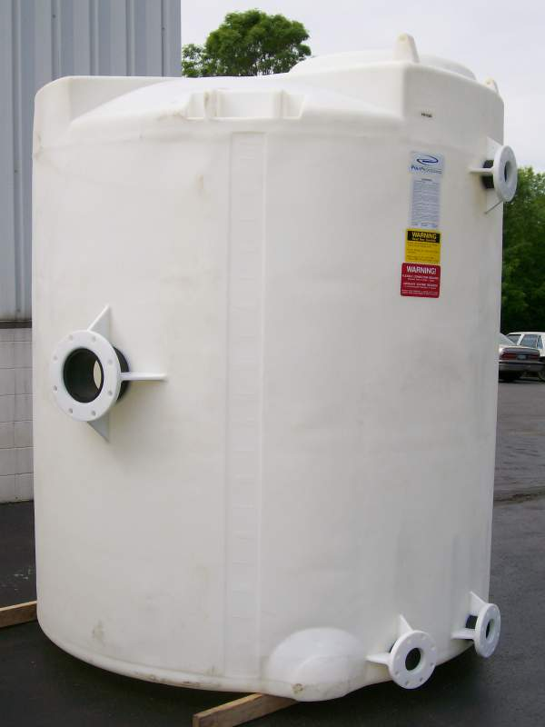 Rotationally Molded Polyethylene Tanks