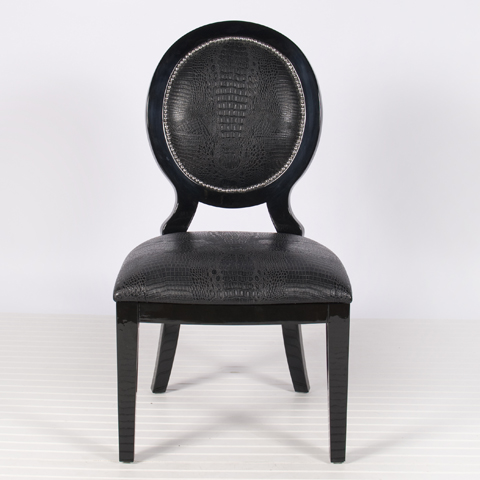 Buy Black Oval Dining Chair