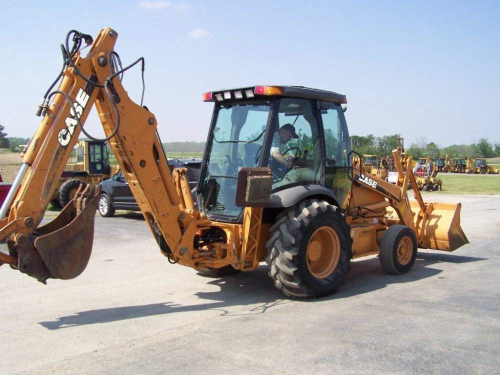05 Case 580 Super M Series 2 Backhoes buy in Hudson