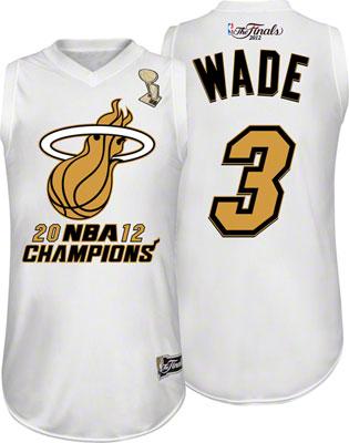 Buy Dwyane Wade Miami Heat Youth 2012 NBA Finals Champions Commemorative Jersey