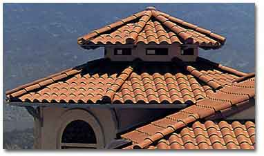 One Piece Smission Clay Roof Tiles
