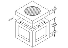 Precast Concrete Utility Vaults 2'-0