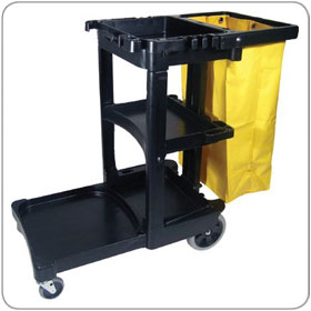 Buy Rubbermaid Janitor Cart
