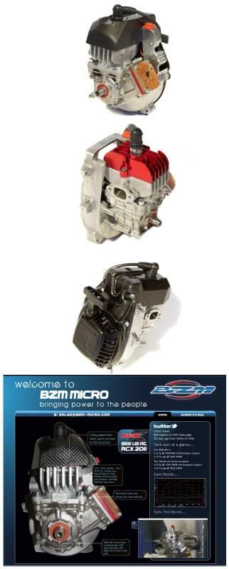 Buy Bb960 - BIZETA BZM Micro 28.5CC Reed Motor (TT Version)