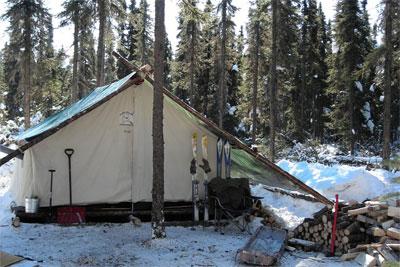 DLX Canvas Wall Tent ~ Traditional Arctic Grade Wall Tents & 13 oz. DLX Canvas Wall Tent ~ Traditional Arctic Grade Wall Tents ...