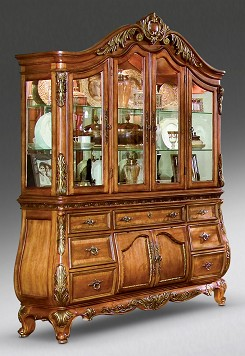 Bon Two Piece China Cabinet Marseille Collection