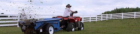 Pequea Compact Manure Spreaders