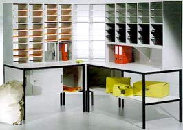 Storage Concepts: Mailroom Sorting Systems