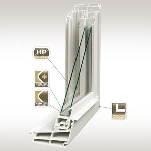 Buy PVC construction window