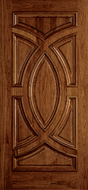 Buy Custom Wood All Panel Exterior Door