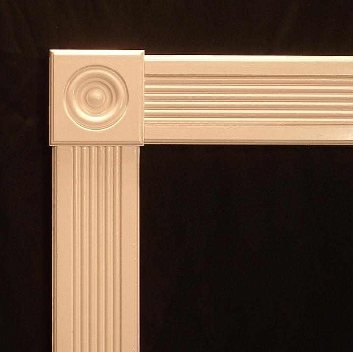 Style J 2 Doorway Rosette And Trim Kit