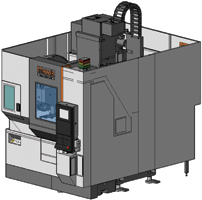 Buy Vertical Center Universal Modular Design with 3-Axis or 5-Axis Capabilities