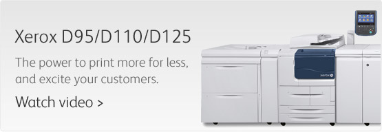 Xerox D95/D110/D125 Black and White Printing buy in Indianapolis