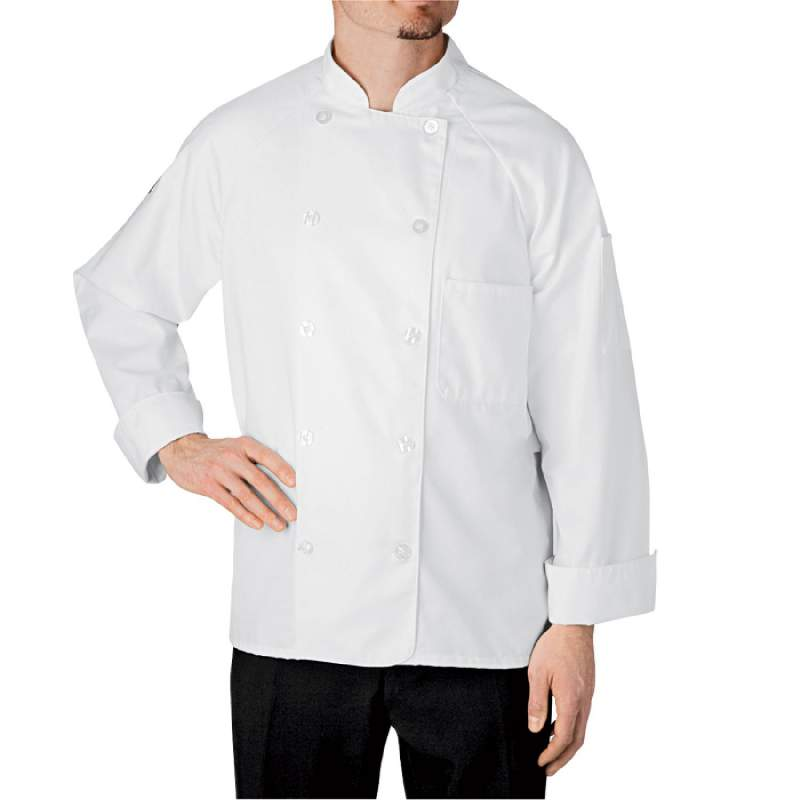 Buy Four-Star Button-Tab Chef Jacket