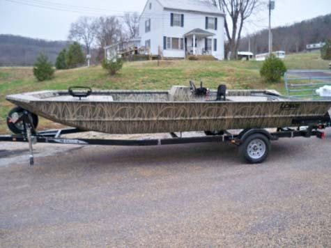 Buy 2012 RX2070SC Camo Roughneck Boat