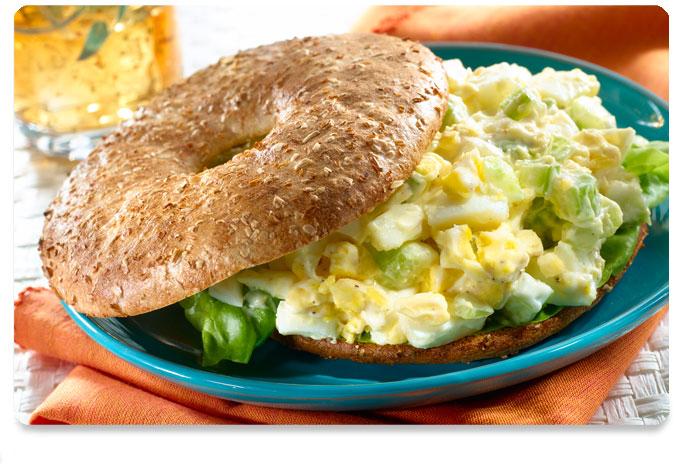 Smart Bagel And Egg Salad