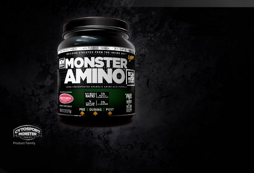 Buy Monster Amino™ Ultra Concentrated Anabolic Amino Acid Formula