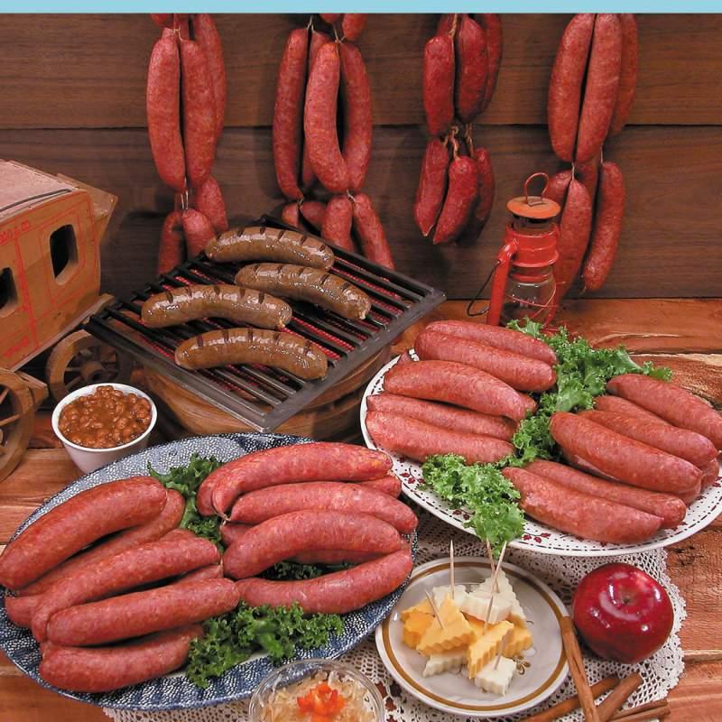 Buy 6 Pack Bratwurst & Sausage Sampler (Full Order)