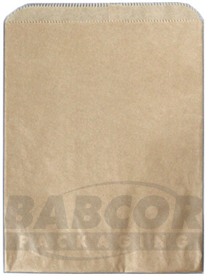 Buy Kraft & White Merchandise Bags