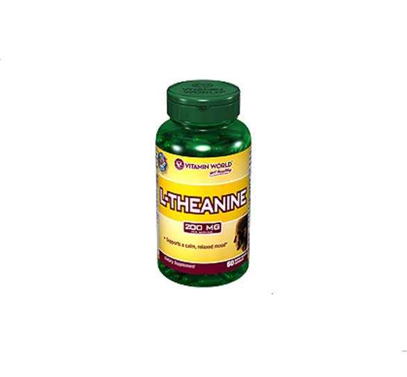 Buy L-Theanine, 60 Capsules Amino Acids
