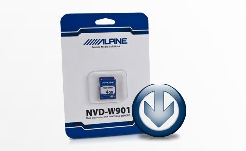 Buy NVD-W901 MAP UpdateSoftware Map Update for INA-W900/INA-W900BT