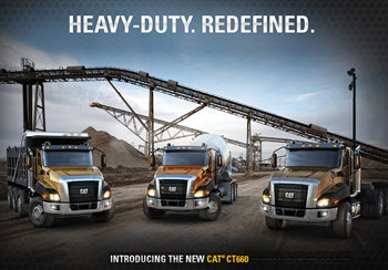 Buy Cat® Vocational Trucks