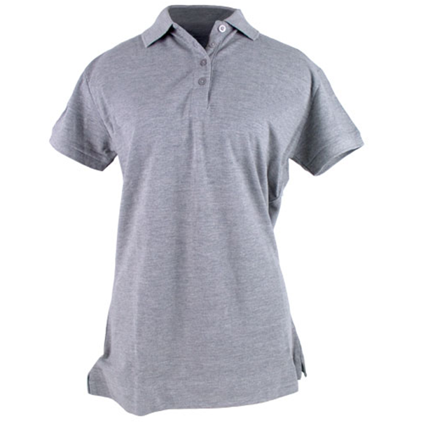 Buy Womens Solid Pique Polo Shirt