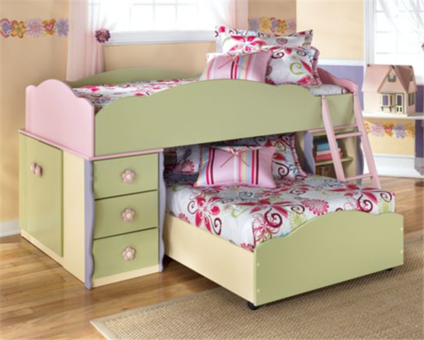 Twin size Doll House Bedroom Set