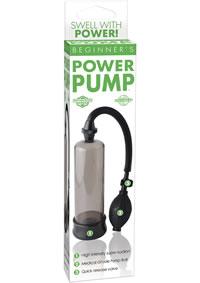 Buy Beginners Pump Smoke Black