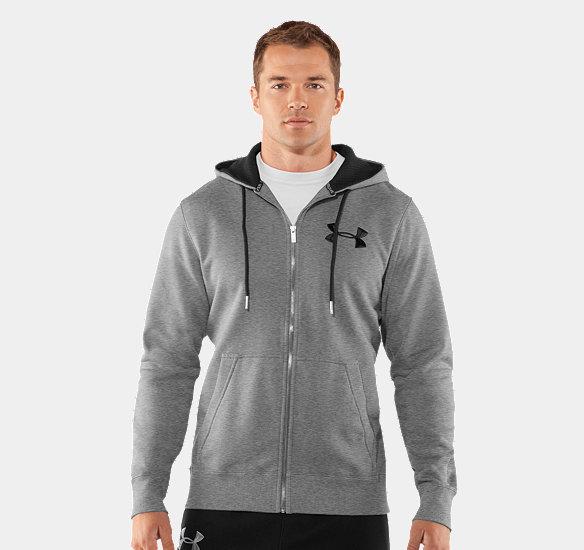Buy Men's charged cotton® storm full zip hoody