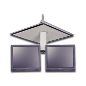 Buy Dual LCD Monitor Ceiling Bracket