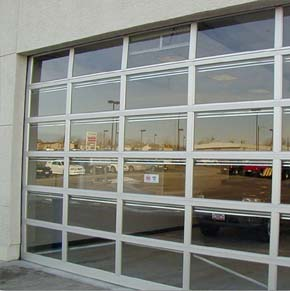 Buy Aluminum Commercial Overhead Sectional Door Raynor AlumaView