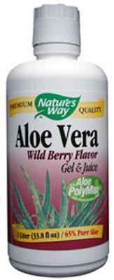 Buy Aloe Vera Wild Berry Flavor Gel and Juice