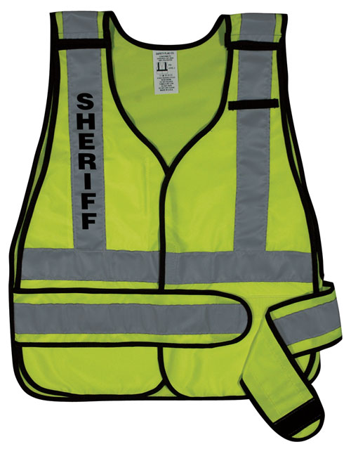 Buy Public Safety Vest with Silver Stripes