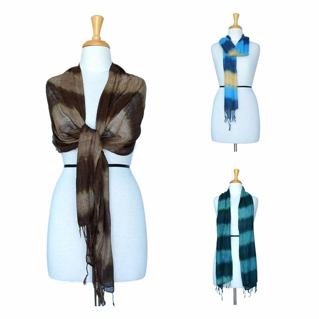 Buy Tie-dye Gauze Scarves
