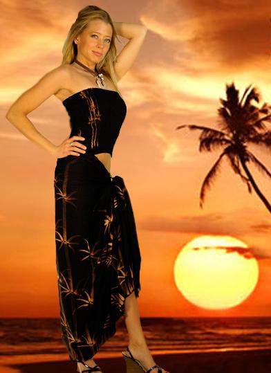 Buy Hawaiian Aloha Sarong / Pareo Set