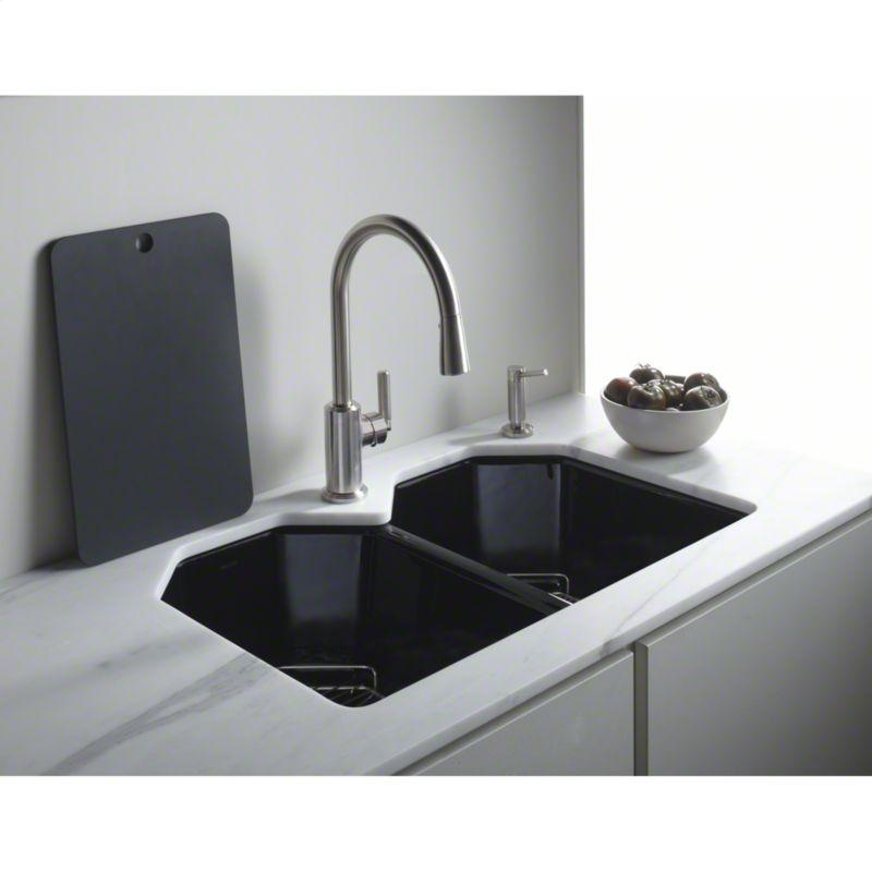 Buy Black Cast Iron Kitchen Sink