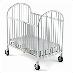 large deluxe metal crib