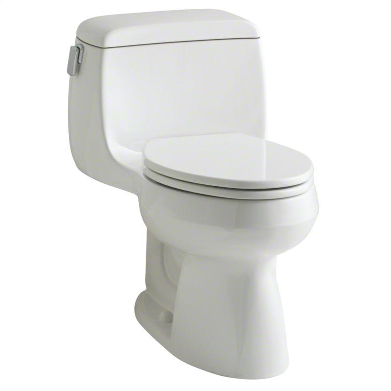Buy Linen Persephone One-Piece High-Efficiency Toilet, Less Seat