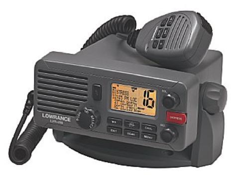 lowrance dsc radio