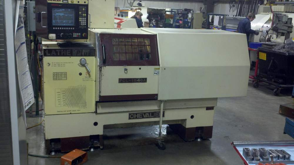 Buy Chevalier FCL-1840A CNC Lathe with Auto Turret