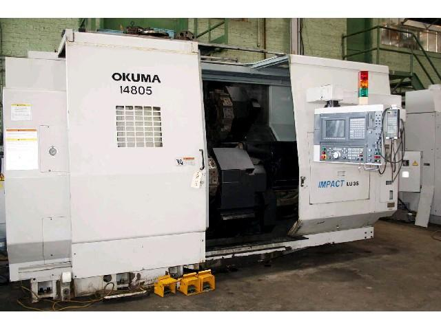 Buy Okuma LU35 4 Axis CNC Turning Center