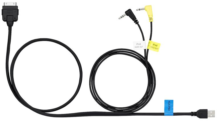 Buy KCA-iP302 iPhone/iPod Audio Video High Speed USB Direct Cable