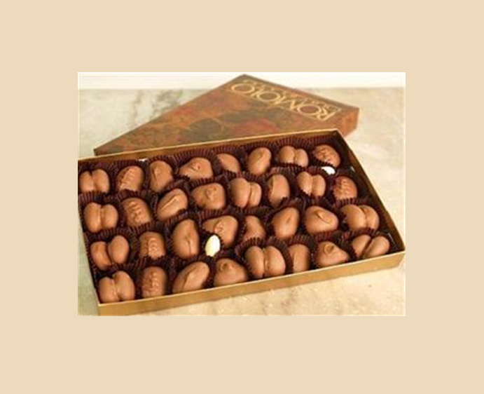 Buy Absolutely Nuts in milk or dark chocolate