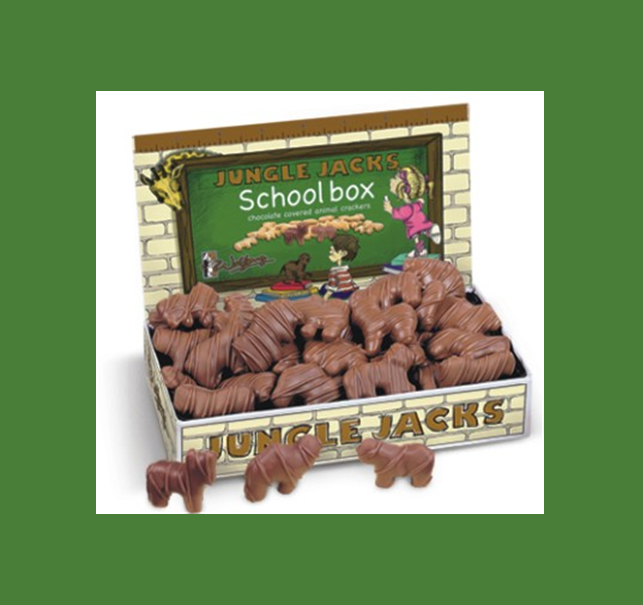 Buy Jungle Jacks School Box (7 oz) Candy Bars